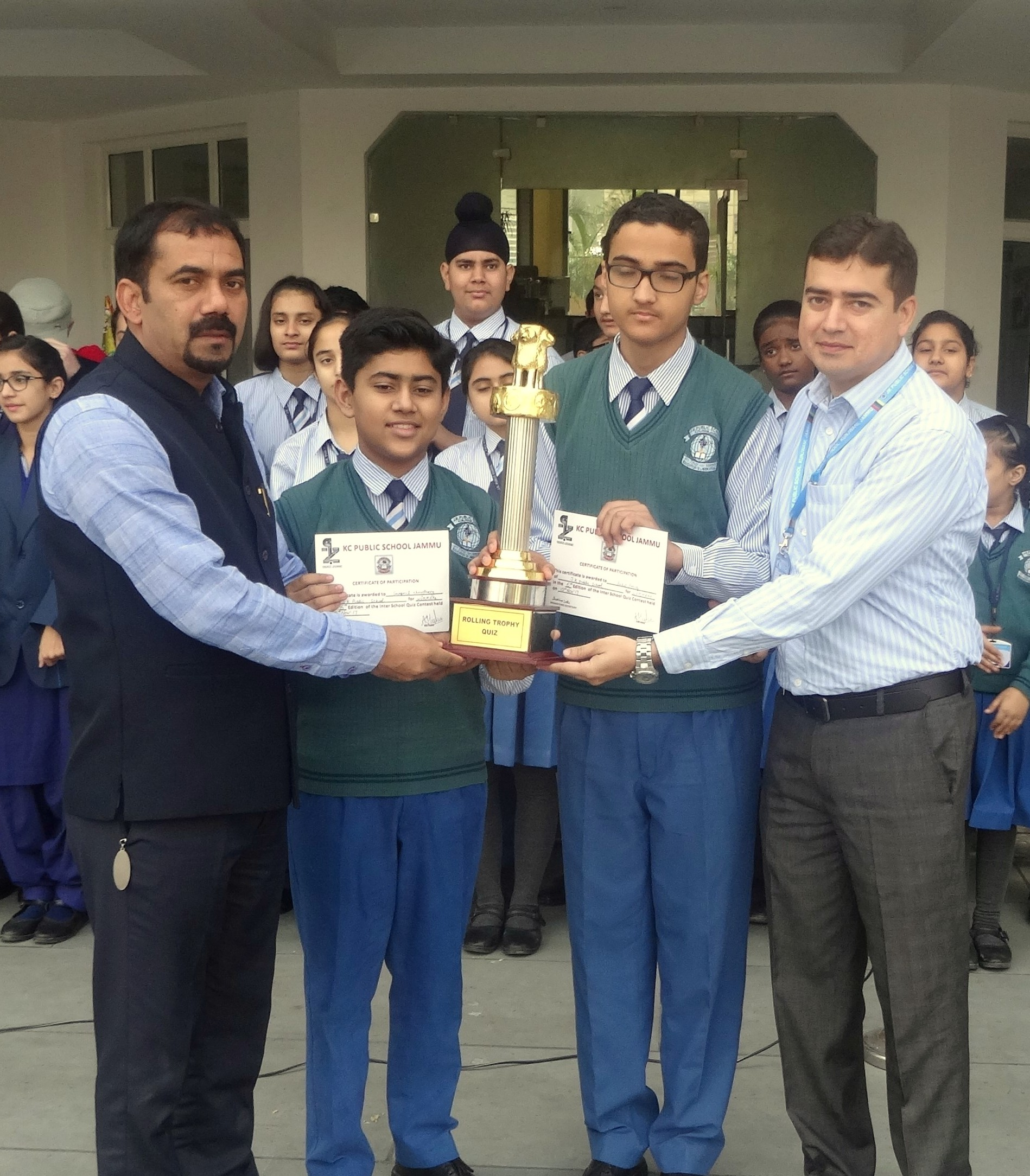INTER SCHOOL QUIZ ZONE -2017