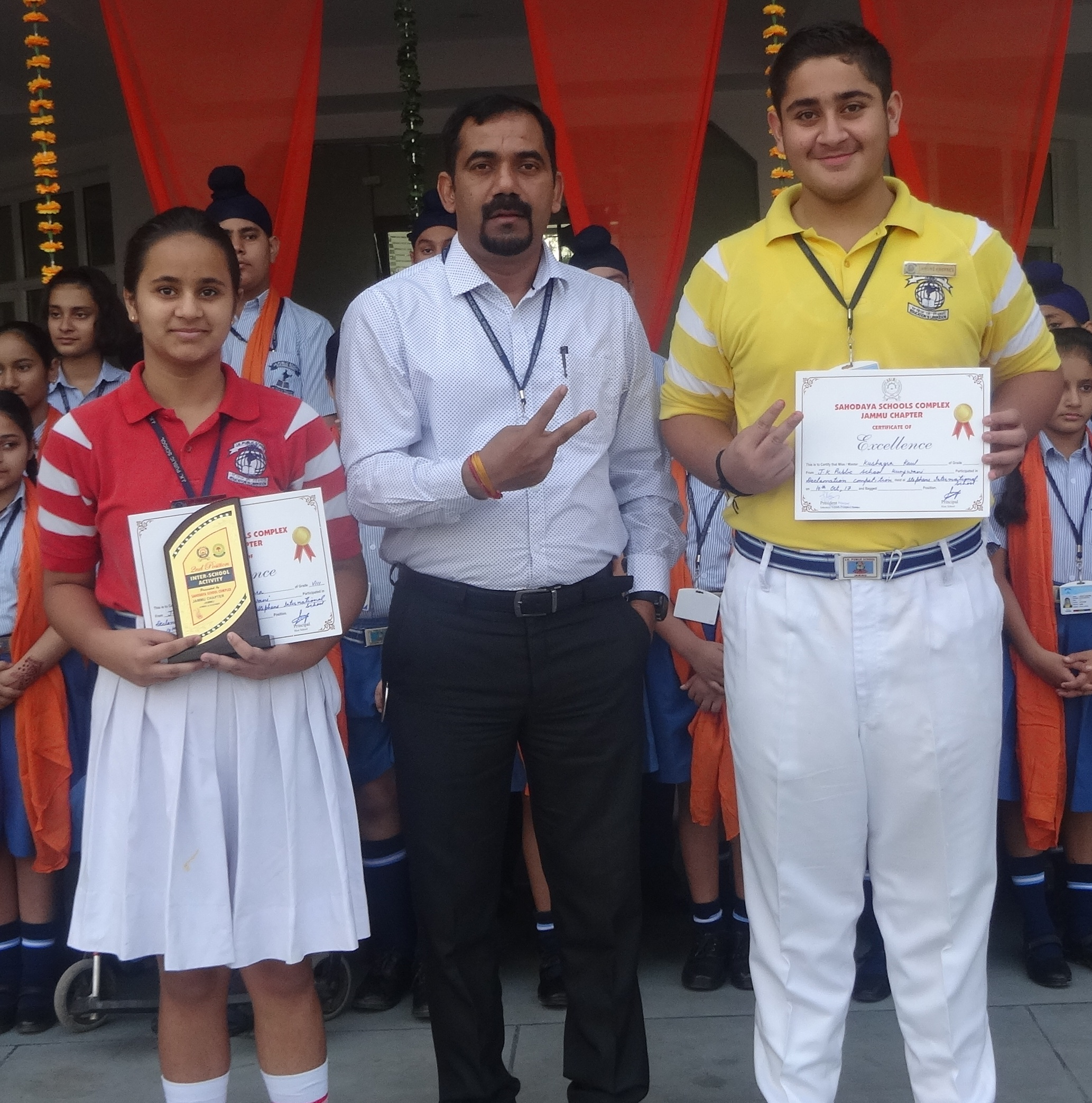 SAHODAYA INTER-SCHOOL DECLAMATION COMPETITIONS