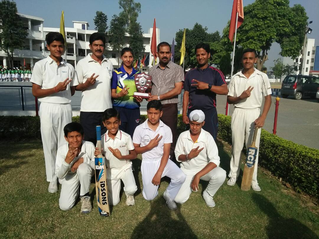 DYSS INTER ZONAL CRICKET TOURNAMENT U-14