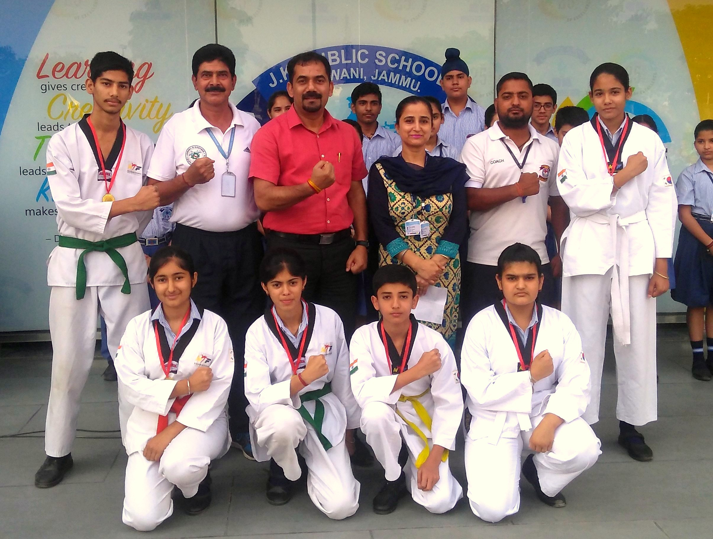 WINNERS BAGGED 6 GOLD MEDALS IN TAEKWONDO CHAMPIONSHIP BY DYSS