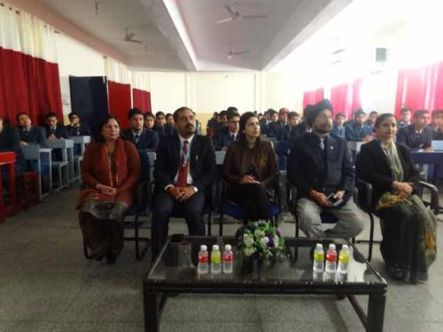 CAREER COUNSELLING WORKSHOP HELD IN JK PUBLIC SCHOOL, KUNJWANI